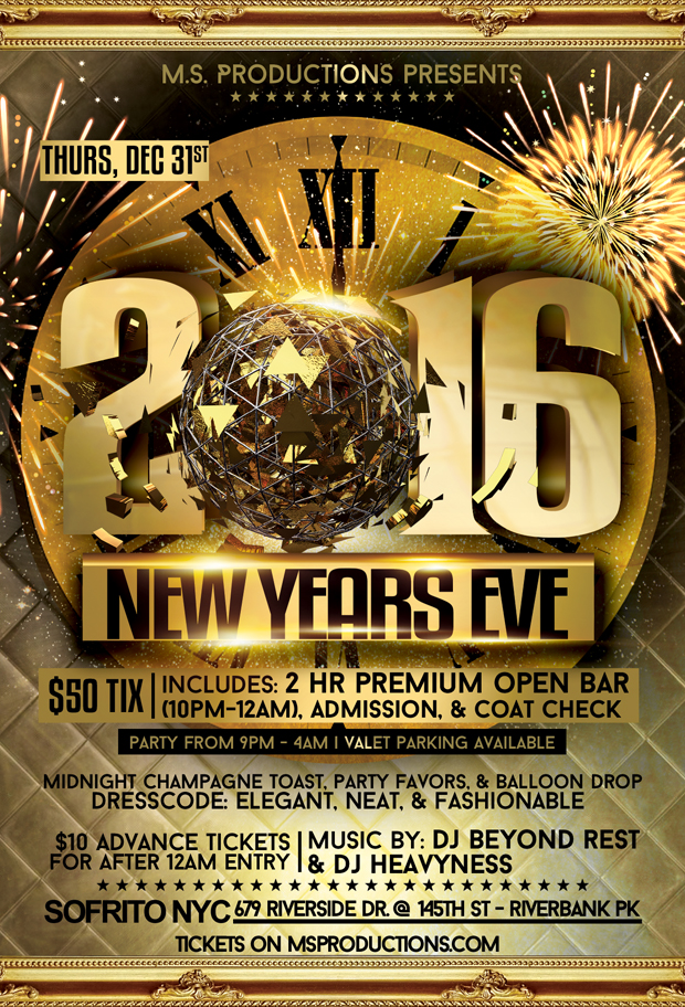 New Years Eve Party at Sofrito